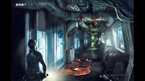Making of Resident Evil Revelations - art 1