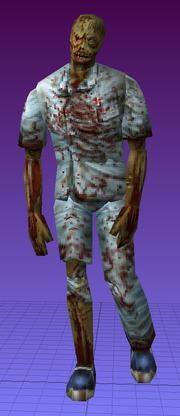RE2MV - Male Zombie B