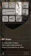 RESIDENT EVIL 7 biohazard M37 Shotgun inventory