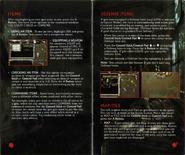Resident Evil Instruction Booklet 10