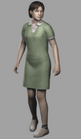 Resident evil outbreak yoko suzuki 3d ingame model alternate costume
