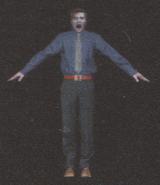 Degeneration Zombie body model 54