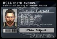 RE5 BSAA ID Chris