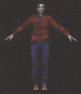 Degeneration Zombie body model 26