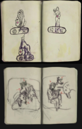 RE2 1-Shot Demo Officer's Notebook difference