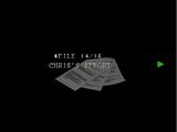 Le rapport de Chris