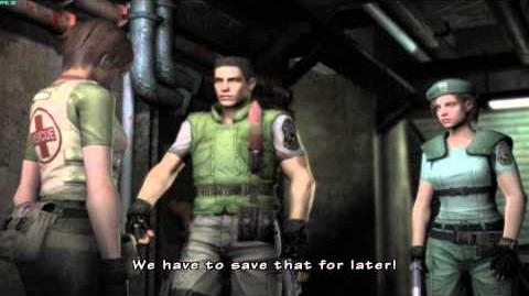 Resident Evil The Umbrella Chronicles all cutscenes - Mansion Incident 3 scene 2