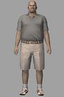 Resident evil outbreak mark wilkins artwork concept art ingame model alternate costume (2)