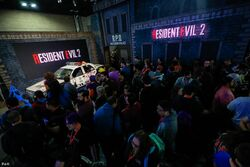 Capcom's booth at PAX South 2019