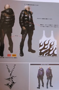 RE6 Jake EX costumes concept art