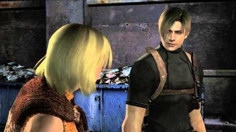 Resident Evil 4 all cutscenes - Chapter 5-2 scene 1