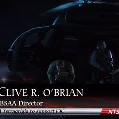 О'Брайан прибывает в Террагригию