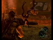 Wesker Volcano fight strategy3