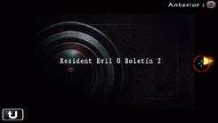 Resident Evil 0 Boletín 2