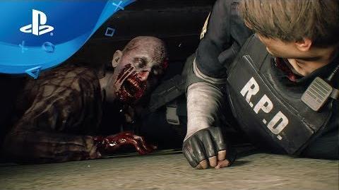 Resident Evil 2 Remake - Gameplay Trailer PS4 E3 2018
