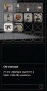 RESIDENT EVIL 7 biohazard Old Videotape inventory