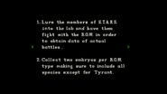 Resident Evil file - Orders page 3