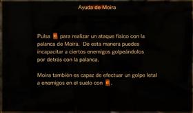 Ayuda de Moira
