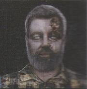 Degeneration Zombie face model 27