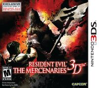 Res evil merc 3ds usa front
