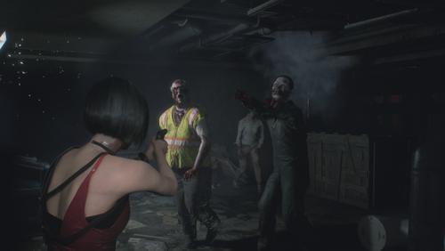 Resident Evil 2 2019 Kopfschuss