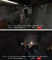 Resident evil moment de verite memos ascenseur