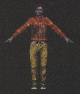 Degeneration Zombie body model 66