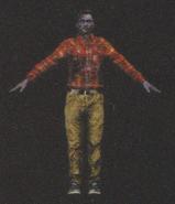 Degeneration Zombie body model 66