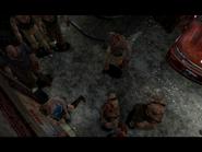Resident Evil 3 Nemesis screenshot - Uptown - Street along apartment building - Jill Valentine scene 08