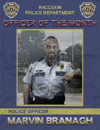 Marvin officer month poster