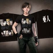 Resident Evil Zero HD Remaster DLC Shirt - Ajin Demi Human