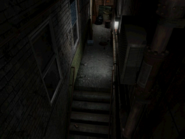 Resident Evil 3 background - Uptown - warehouse back alley c2 - R11D02