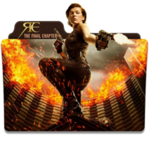 Resident evil the final chapter folder icon by nickohetenbern-dadbh79