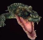Alligator resident evil 2 model