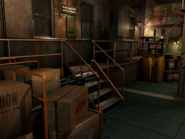 Resident Evil 3 background - Uptown - warehouse e - R10101