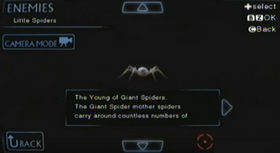 Arañas Pequeñas (Archivo)