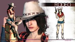 Claire rodeo concept