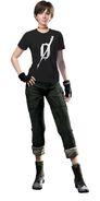 Resident Evil Zero HD Remaster DLC Shirt - Dengeki PlayStation (front)