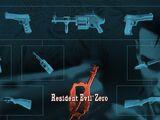 Armas de Resident Evil 0