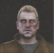 Degeneration Zombie face model 41