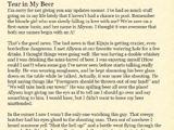Tear in My Beer