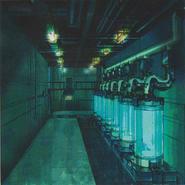 CODE Veronica concept art - B.O.W. storage room 1