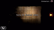 Carta de Richard Aiken