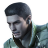 Chris Redfield Portrait Umbrella Chronicles