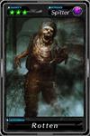 Deadman's Cross - Rotten card
