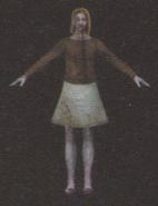 Degeneration Zombie body model 10