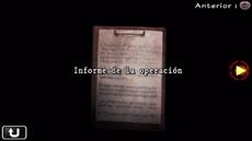Informe de la operación