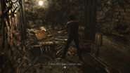 Resident Evil 0 HD - Worksite Remains hole examine 1