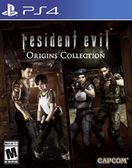 Resident Evil Origins Collection PS4 North American Cover