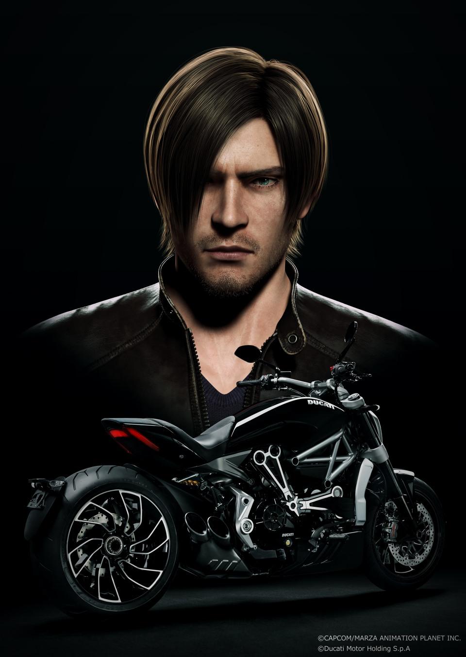 Arquivo:Resident Evil Vendetta - Leon Scott Kennedy - Ducati XDiavel.png